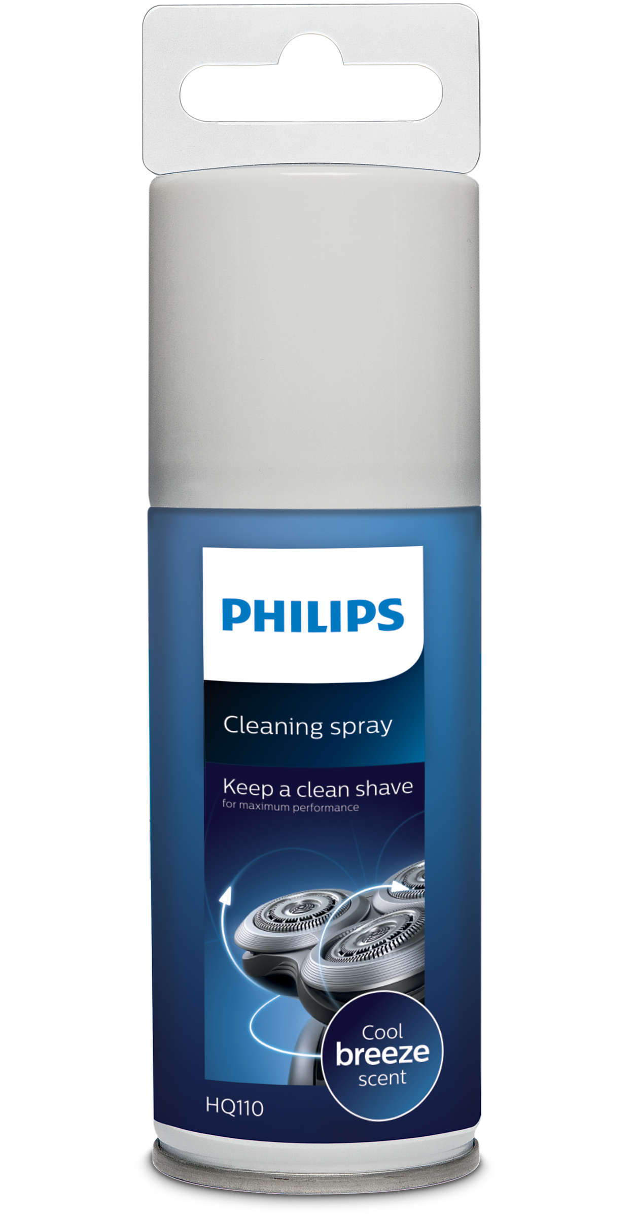Een schoon scheerapparaat