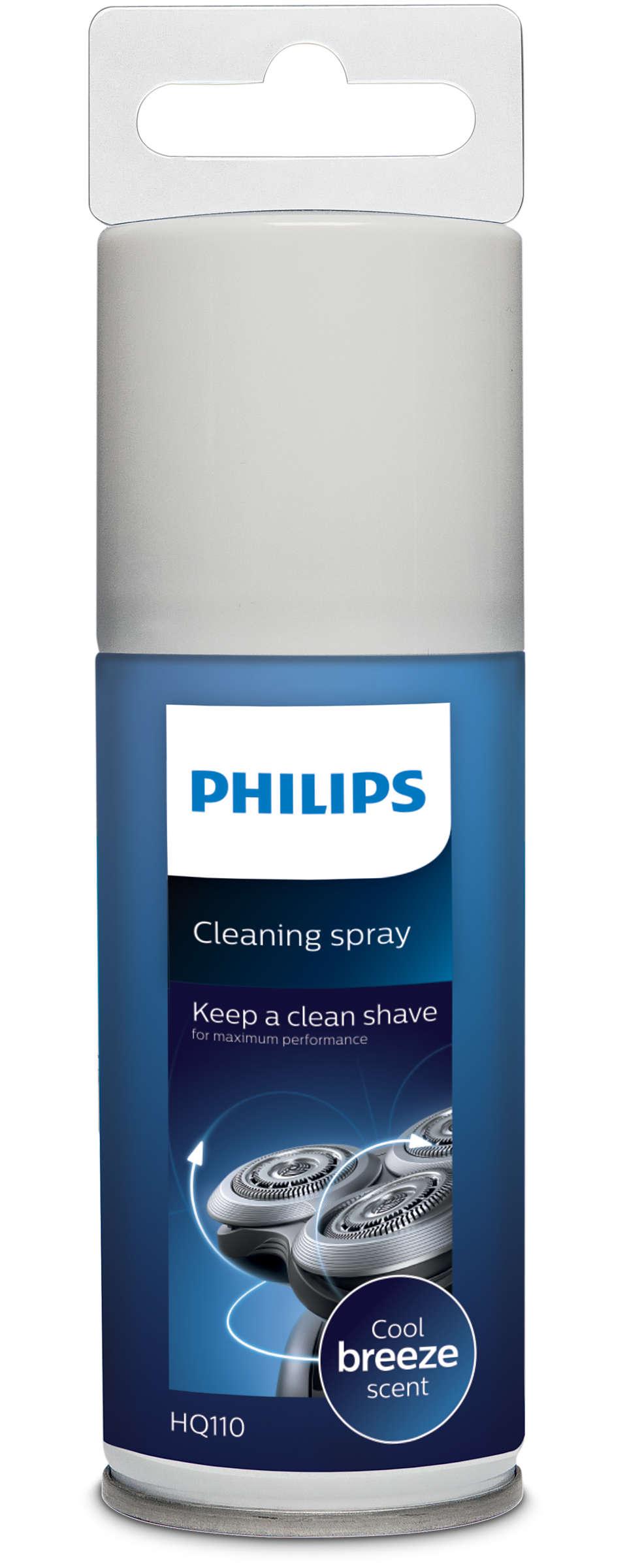 保持清潔的剃鬚效果