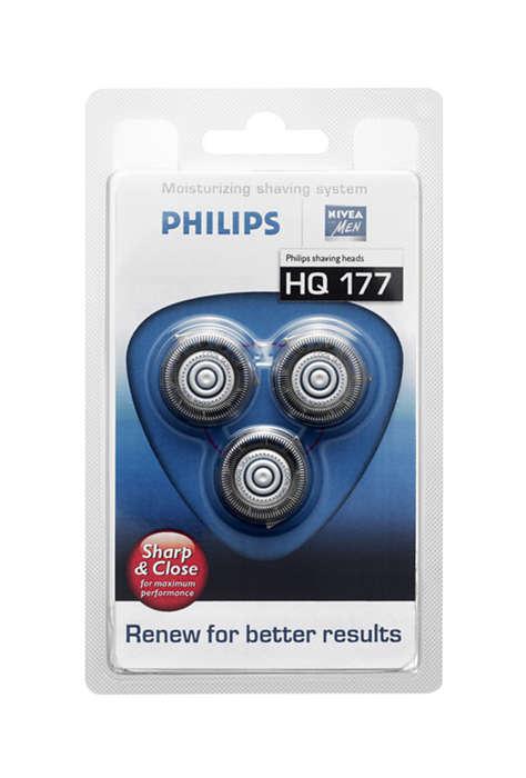 Remplacez vos têtes de rasoir pour de meilleurs résultats