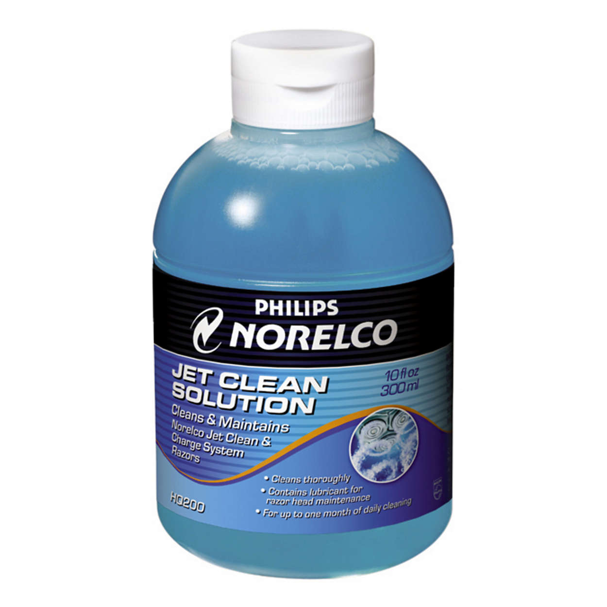Cleans and lubricates