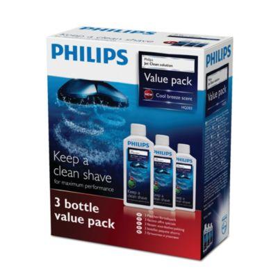 Buy Reinigt und ölt, Jet Clean-ReinigungslösungHQ203/50 online | Philips Shop