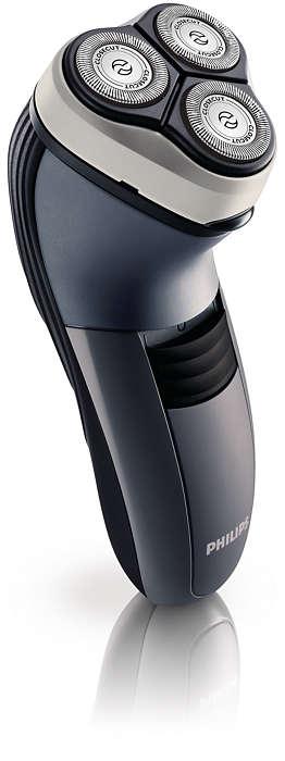 Afeitada al ras, incluso en el cuello