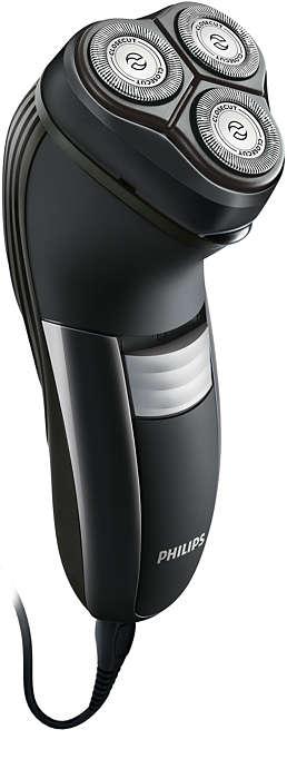 Идеально чистое бритье, даже на шее