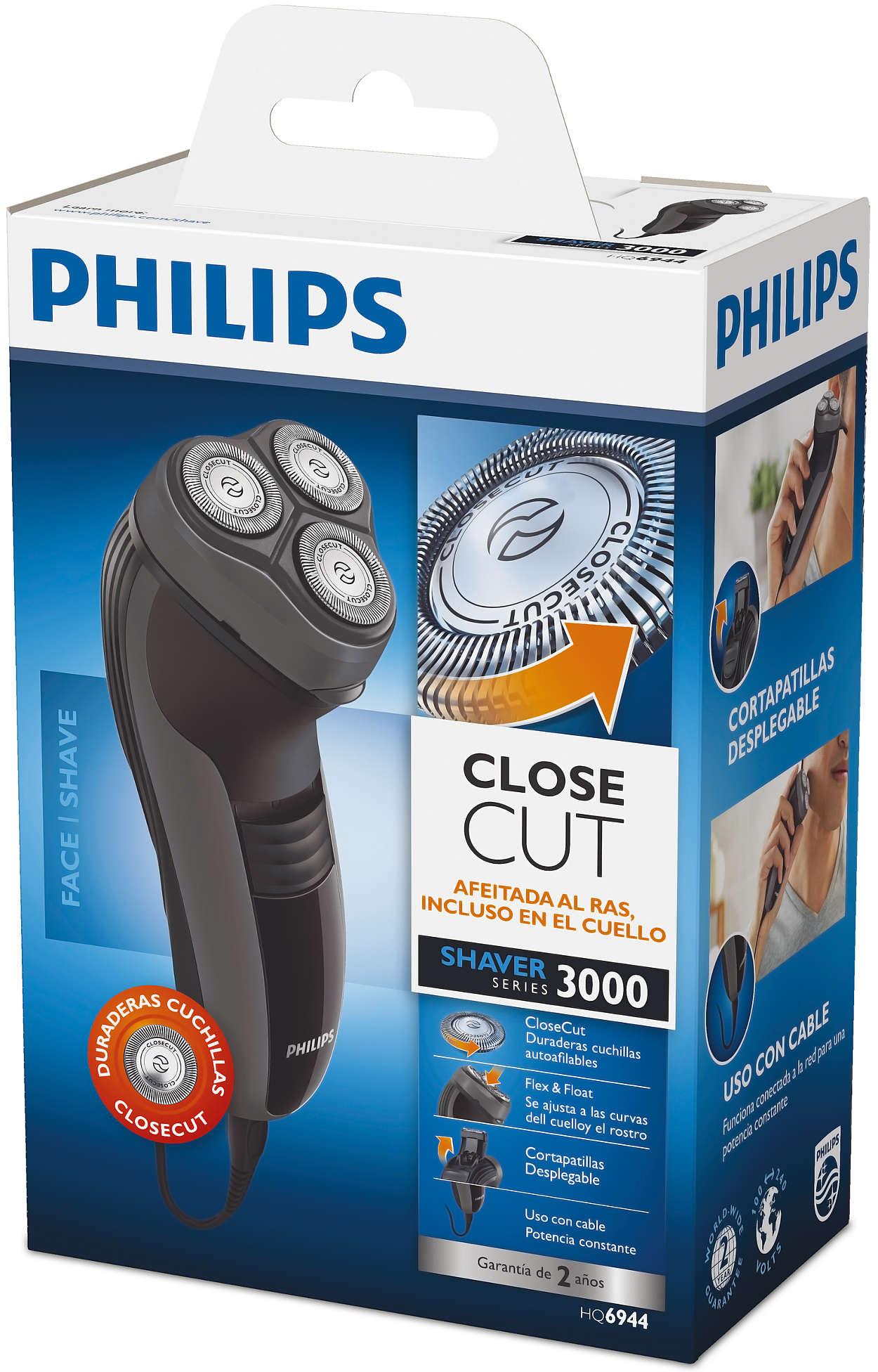 Shaver series 3000 Afeitadora eléctrica en seco HQ6944 16  18be104fac5d