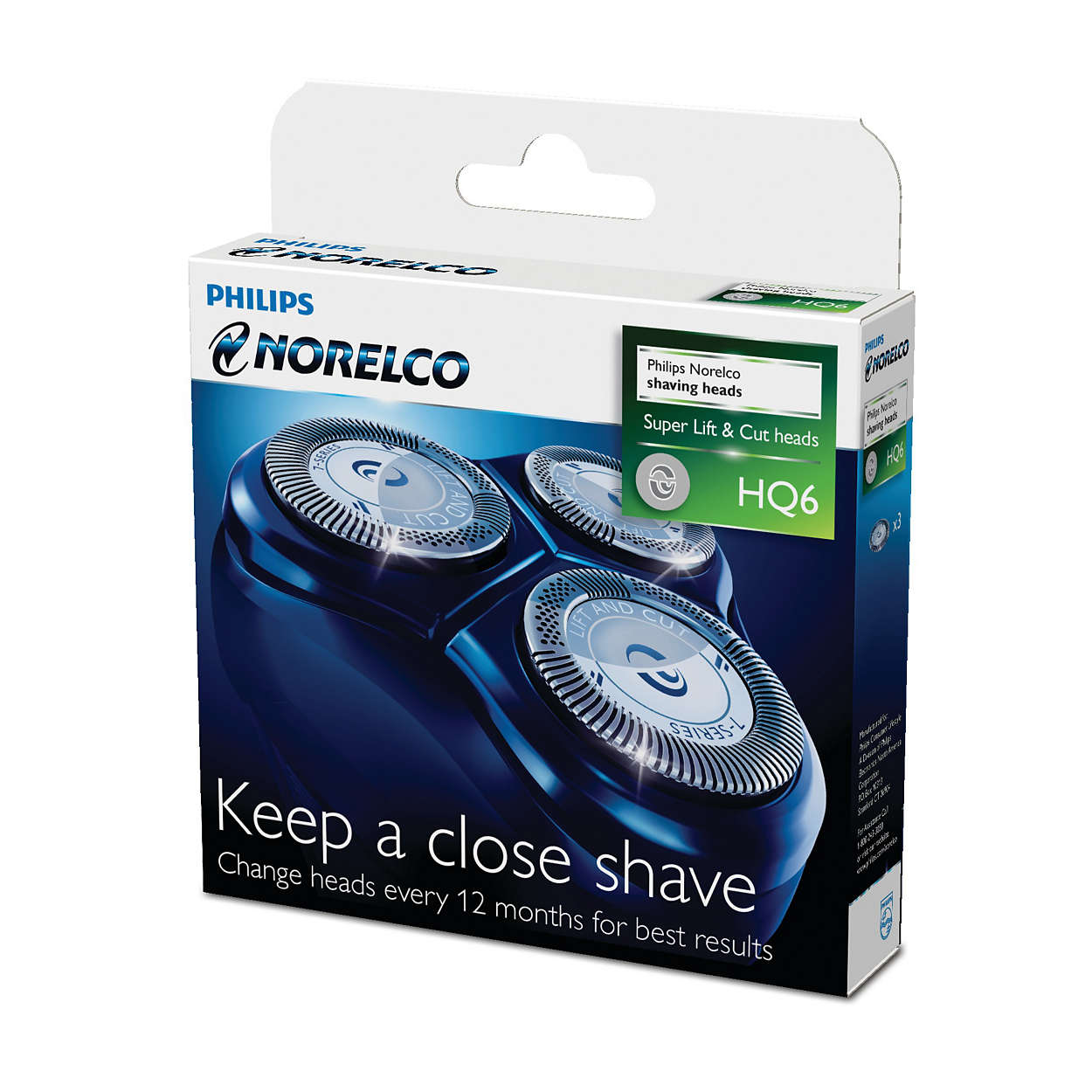 Für eine jederzeit gründliche Rasur