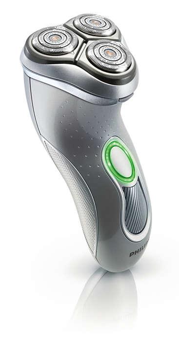 Für eine schnellere und gründlichere Rasur
