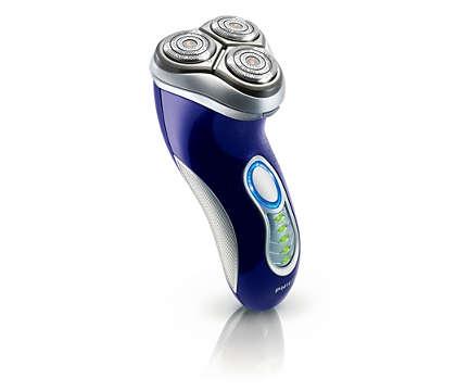 Para un afeitado más rápido y más apurado