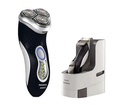 加大刮鬍面積,刮鬍速度更快更乾淨