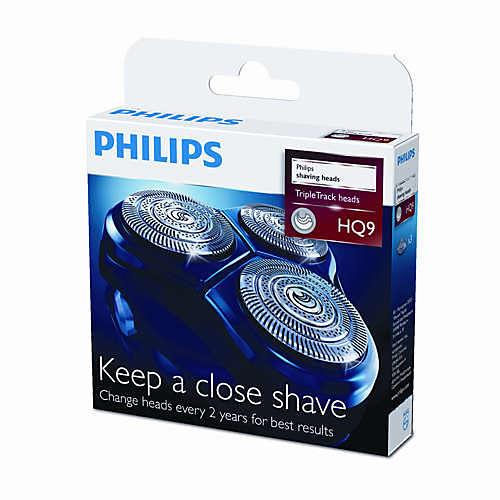 PowerTouch shaving heads