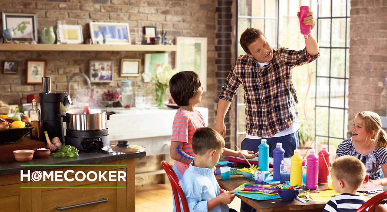 Jamie Oliver Homecooker Hr1050 90 Philips