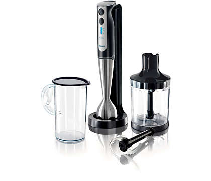 The world's most powerful cordless handblender