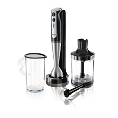 HR1378/90 Aluminium Collection hand blender