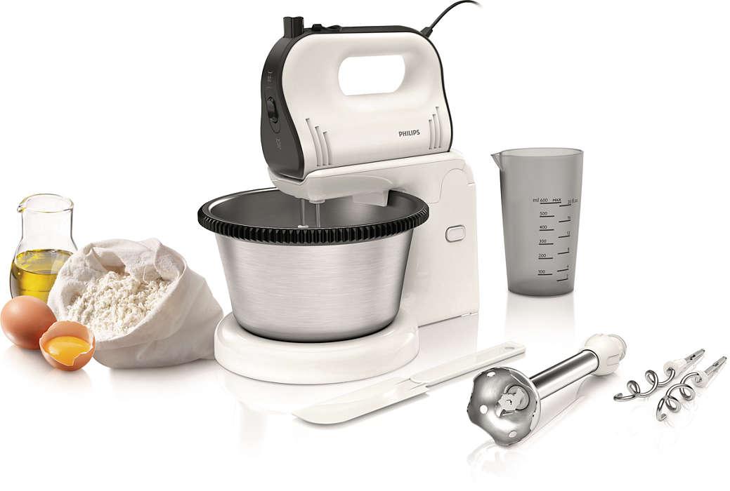 Egyszerű ételkészítés, a piskótatésztától a kemény tésztáig