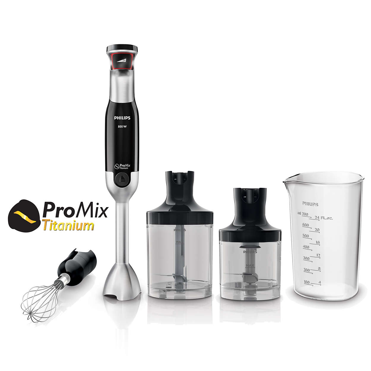 Powerful and easy control handblender