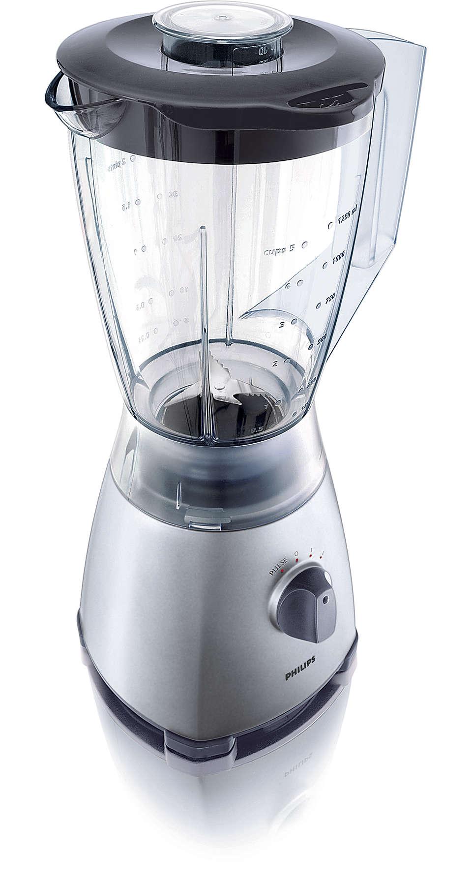 Mixning på ett enkelt sätt