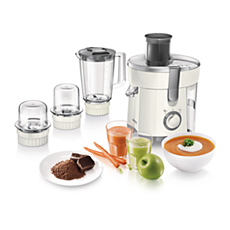 HR1847/00 Viva Collection Juicer, Blender, Grinder and Chopper