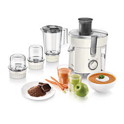 Viva Collection Juicer, Blender, Grinder and Chopper