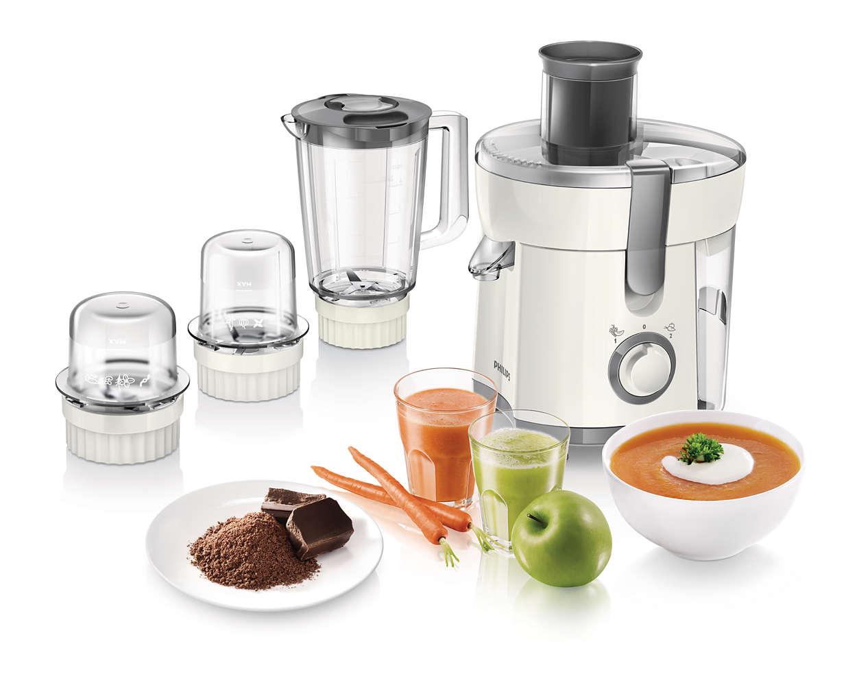 Philips Food Processor Blender Juicer