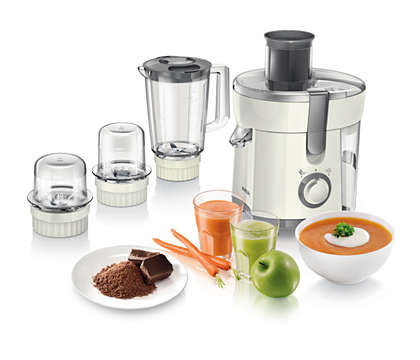 HR1847/05 JUICER BLENDERCHOPPER