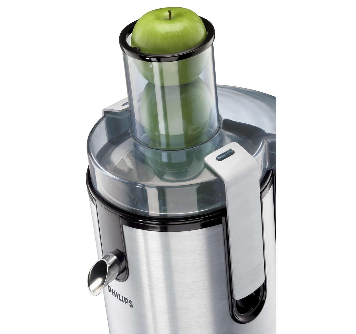 Aluminium Collection Juicer Hr1861 00 Philips