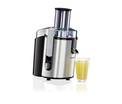 Maximum juice. Minimum fuss.