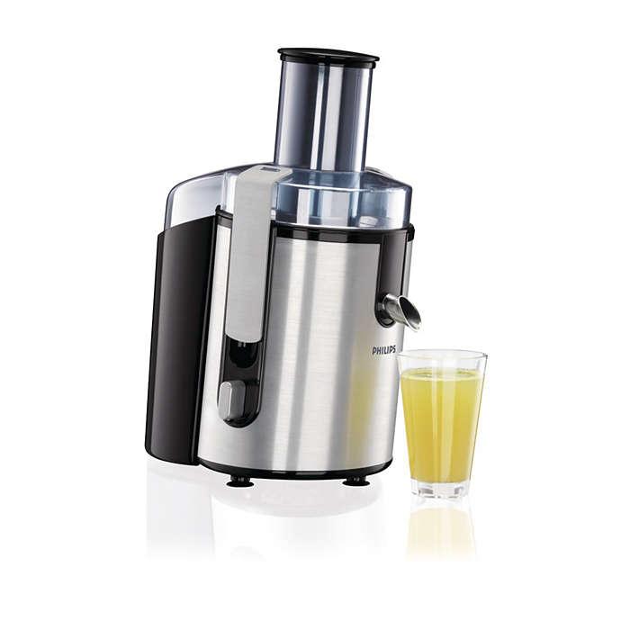 更多果汁。更加方便。