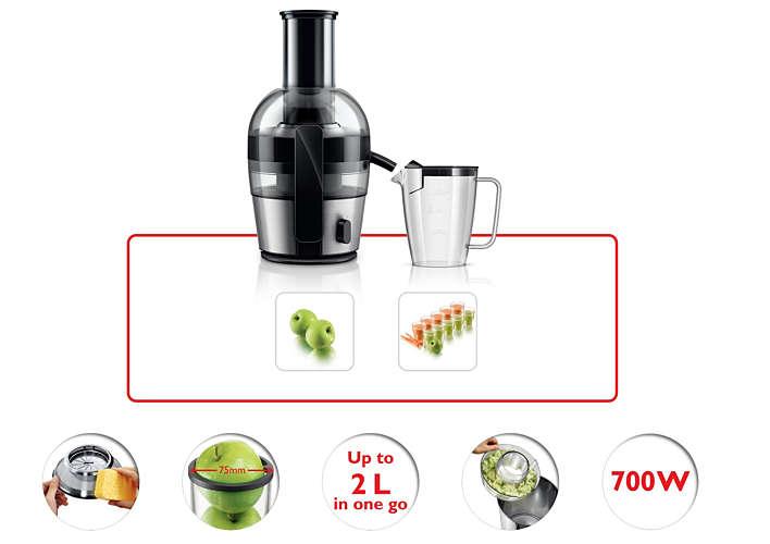 สกัดน้ำผลไม้ได้ปริมาณมาก โดยไม่เปลืองแรง