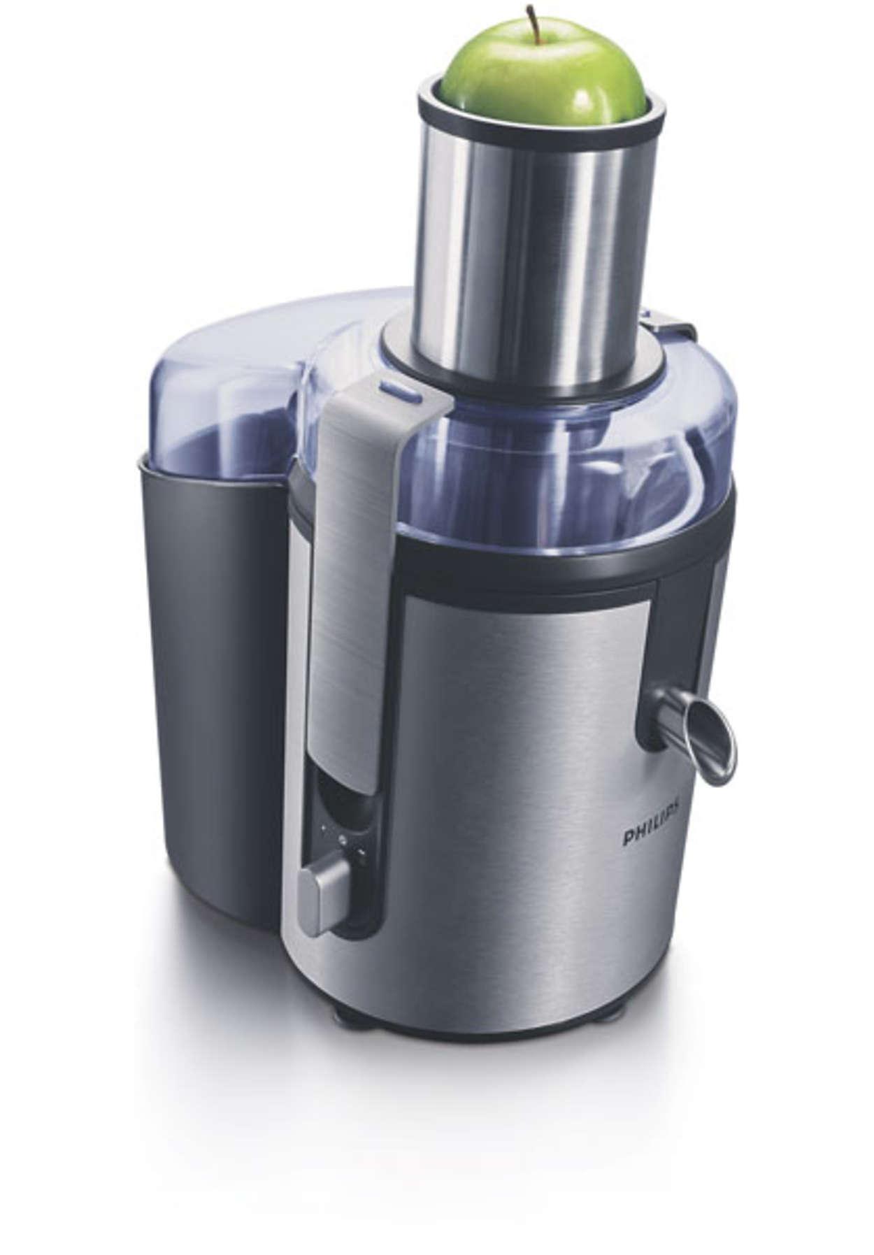 Aluminium Collection Juicer HR1865/00 | Philips