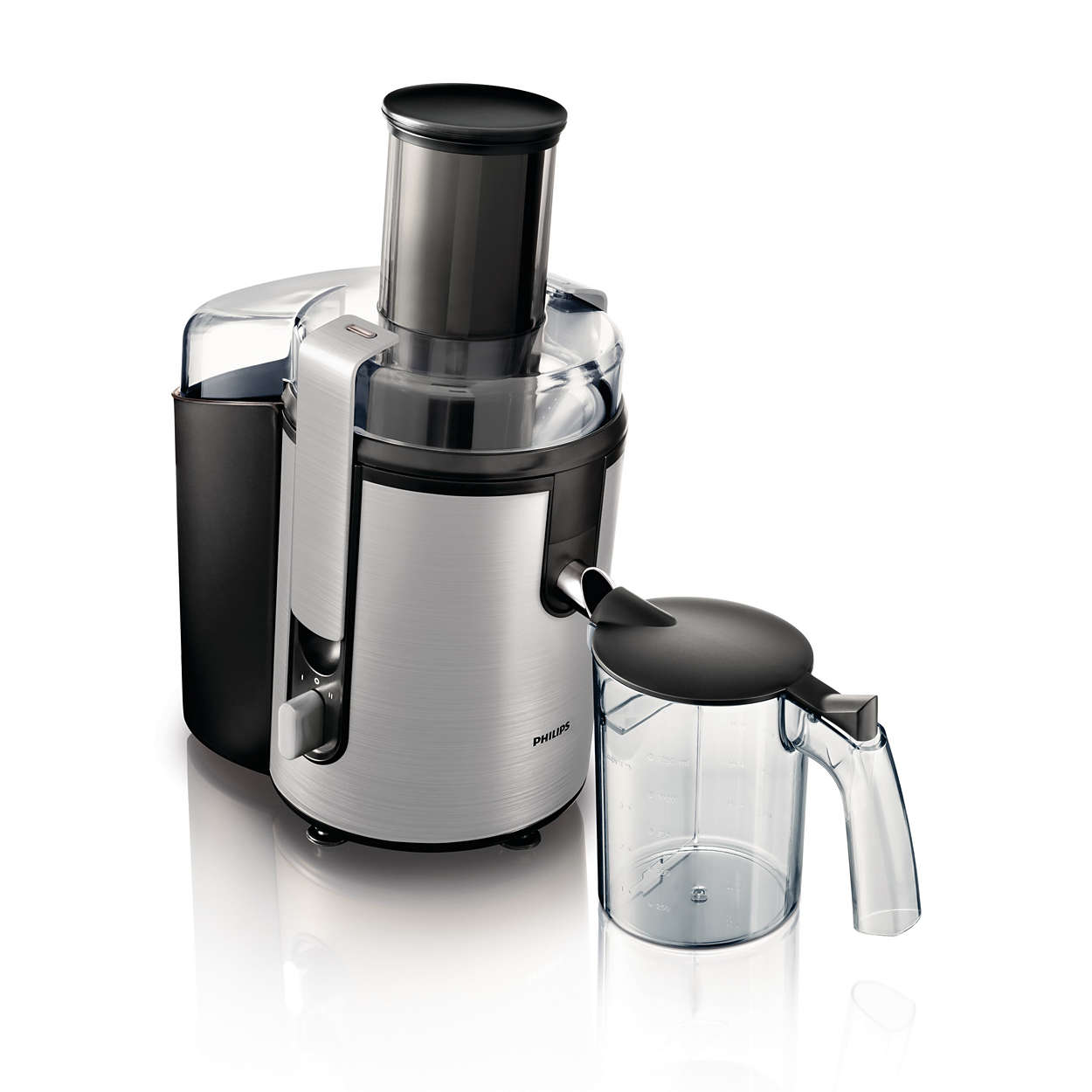 aluminium collection juicer hr1866 00 philips. Black Bedroom Furniture Sets. Home Design Ideas