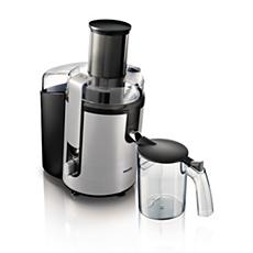 HR1866/00 Aluminium Collection Juicer