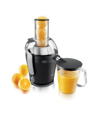 Buy 900 W QuickClean-juicer, 2,5 l, XXL-rør og drypstop-funktionHR1869/00 online | Philips Shop