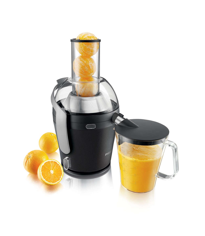 Maximalt med juice. Minimalt med besvär.