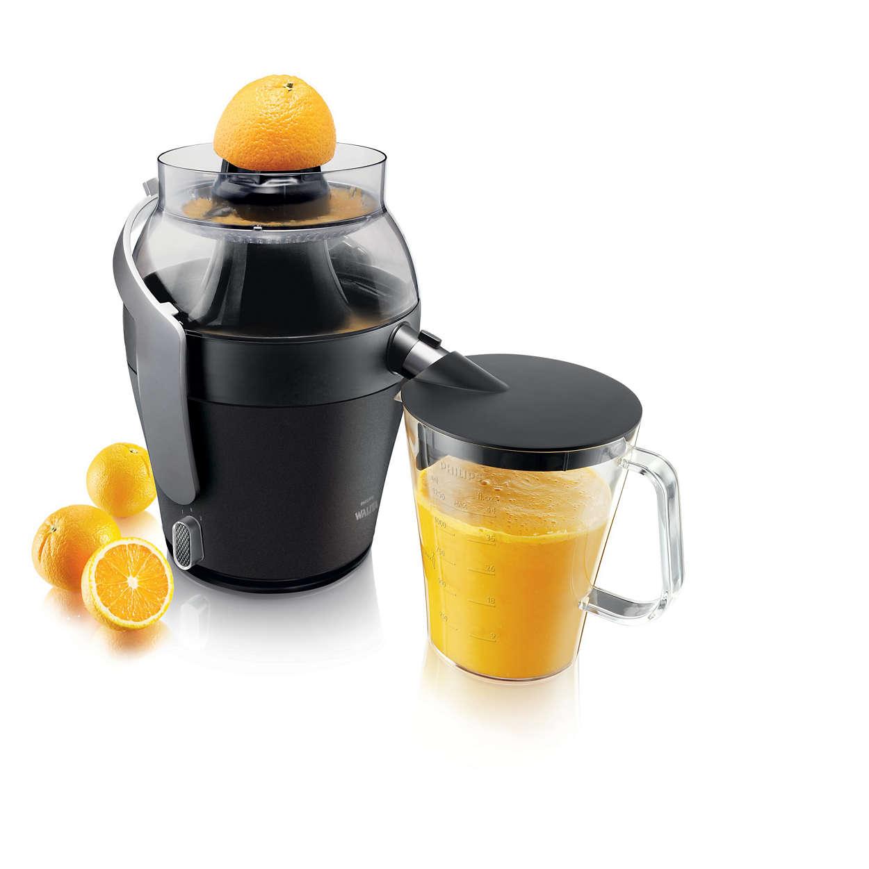 Maksimum meyve suyu. Minimum zahmet.