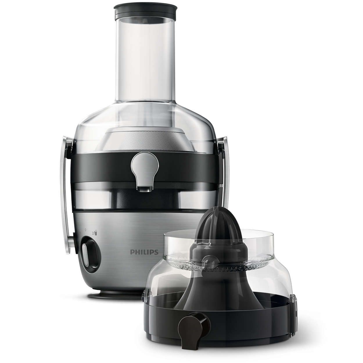 Slow Juicer No Fiber : Avance Collection Juicer HR1925/20 Philips