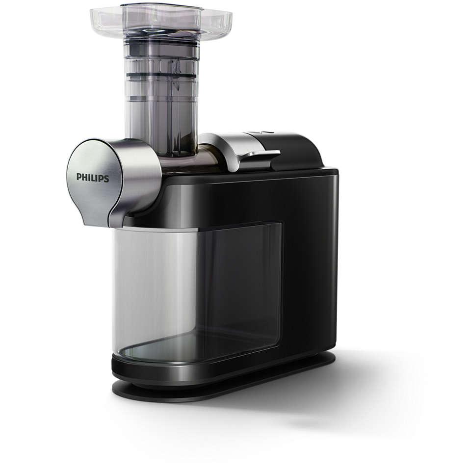 Pressa ett glas hälsa