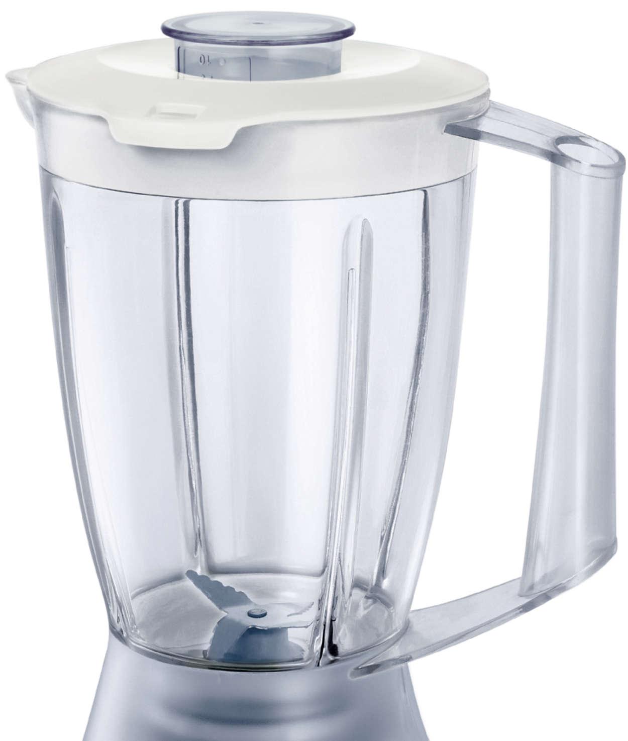 Jarra de plástico de la licuadora