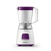 Philips Daily Collection Blender HR2058/61 350 W 1.25 L Plastic jar 4 stars stainless steel blade with 2 mills