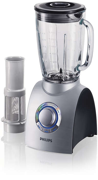 Extra power for superior blending and crushing
