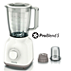 Philips Daily Collection Blender HR2102/03 400W 1.5 L Plastic Jar with mini chopper 5 star serrated blade