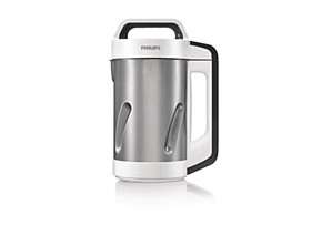 Philips Viva Collection SoupMaker HR2201 81 1.2L with 5 programs Stainless single housing 1.2m cord  spout Booklet with 31 recipes