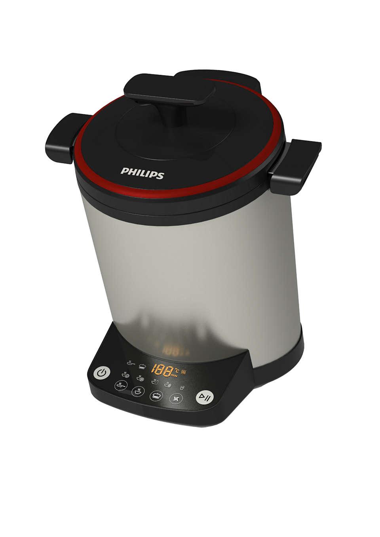Mixage et cuisson de plats sans surveillance