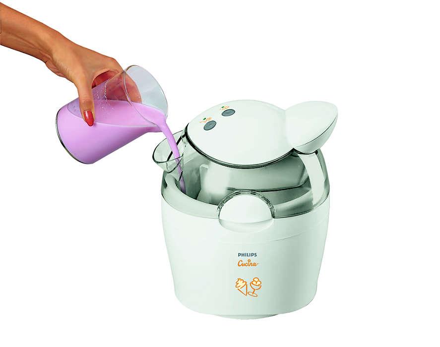 mesin es krim sederhana