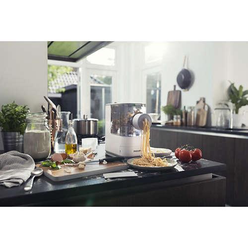 Viva Collection Pasta maker - Compatto, con 4 trafile