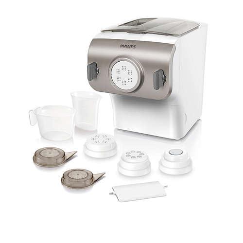 Pasta- og nudelmaskine