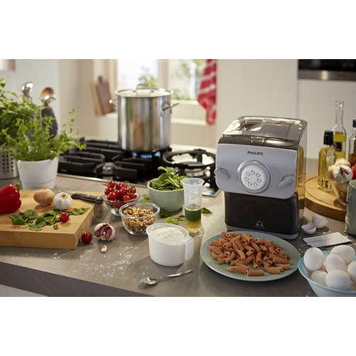 Avance Collection Pasta maker - Con 8 trafile, pesatura autom.