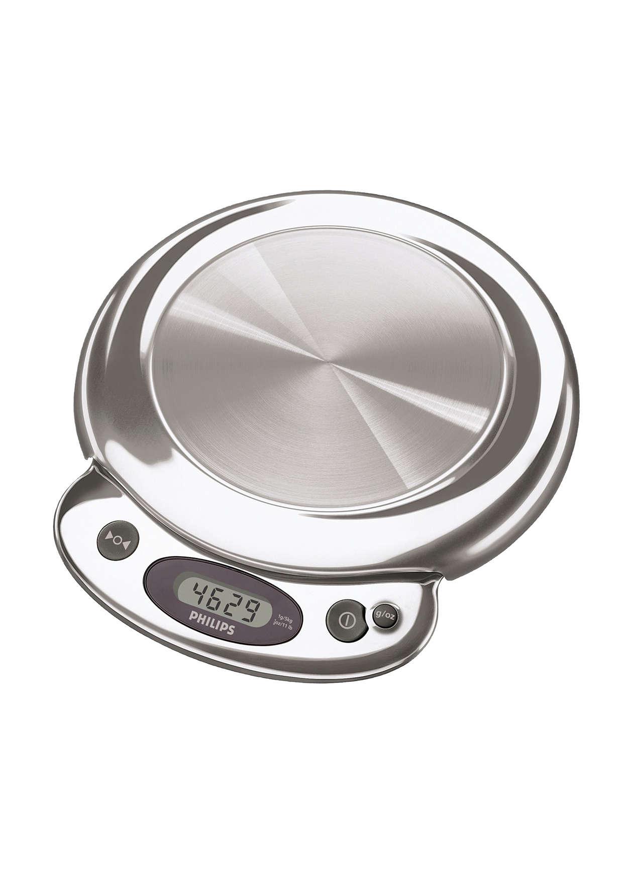 Pesage précis en grammes ou onces