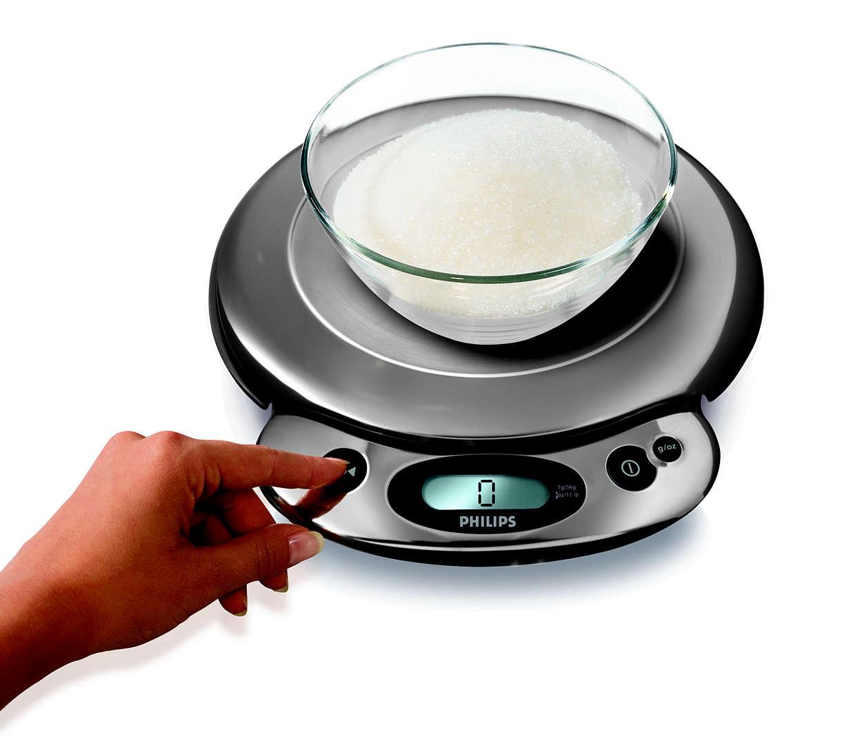 kitchen scale hr2395 00 philips