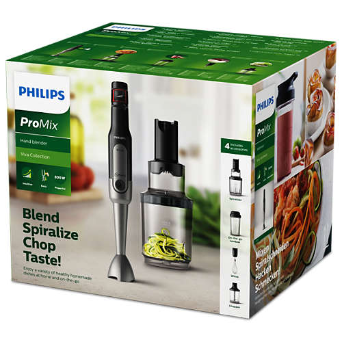 Viva Collection Zoodler Philips blender ze spiralnym ostrzem