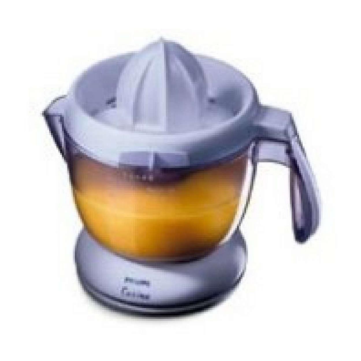 Njut av färsk juice på några sekunder