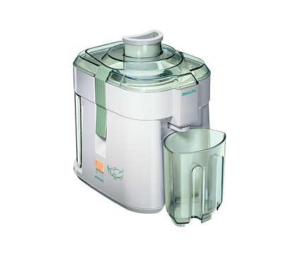 Homemade juice easily